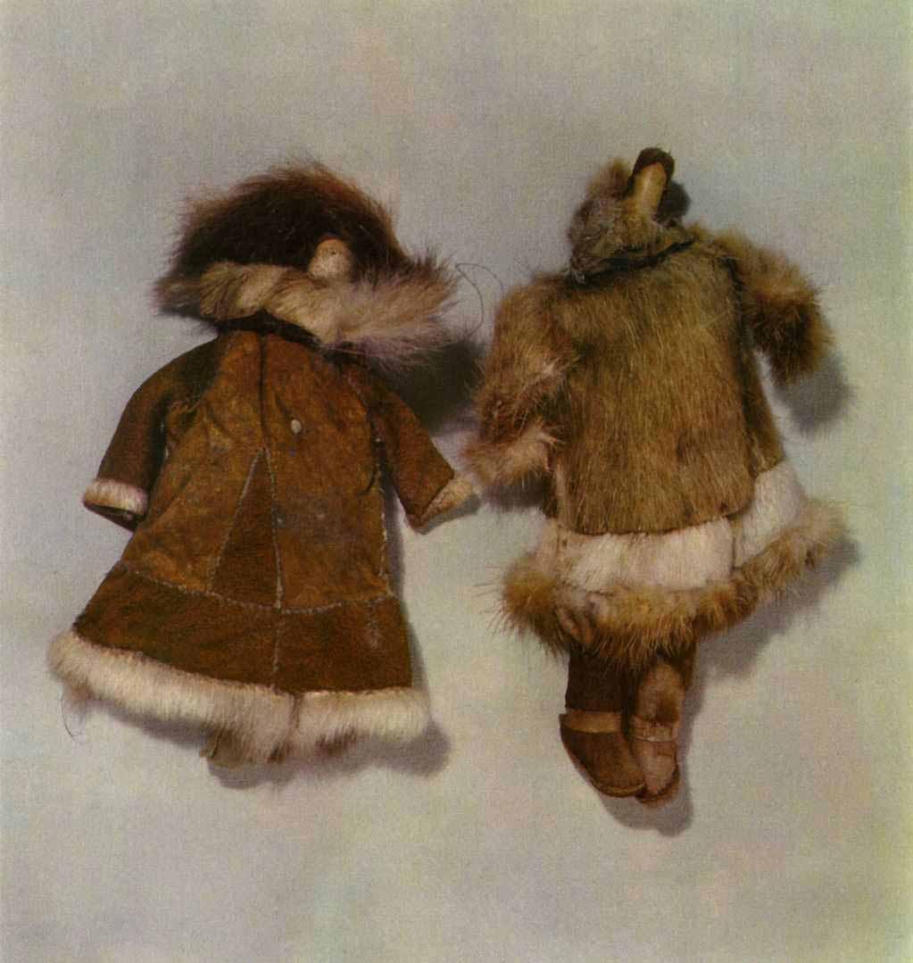 Куклы из меха своими руками